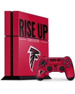 Atlanta Falcons Team Motto PS4 Console and Controller Bundle Skin