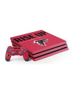 Atlanta Falcons Team Motto PS4 Pro Bundle Skin
