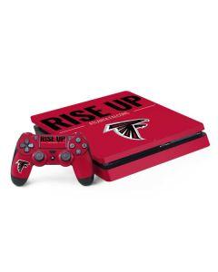Atlanta Falcons Team Motto PS4 Slim Bundle Skin