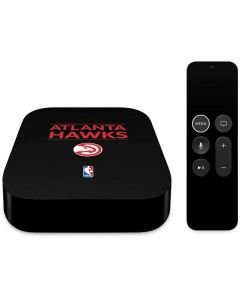 Atlanta Hawks Standard - Black Apple TV Skin
