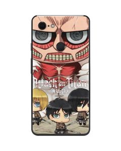Attack On Titan Clouds Google Pixel 3 XL Skin