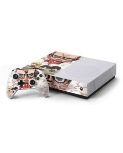 Attack On Titan Clouds Xbox One S Console and Controller Bundle Skin
