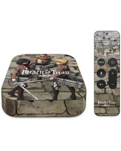 Attack On Titan Destroyed Apple TV Skin