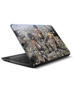 Attack On Titan Destroyed HP Notebook Skin