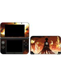 Attack On Titan Fire 3DS XL 2015 Skin