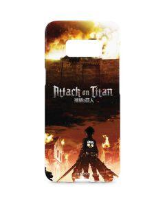Attack On Titan Fire Galaxy S8 Plus Lite Case
