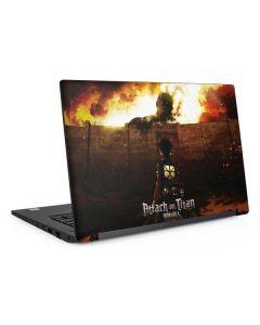 Attack On Titan Fire Dell Latitude Skin