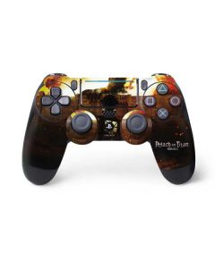Attack On Titan Fire PS4 Pro/Slim Controller Skin