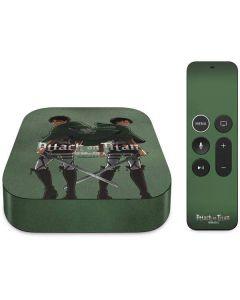 Attack On Titan Logo Apple TV Skin