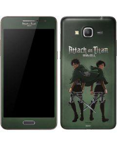Attack On Titan Logo Galaxy Grand Prime Skin