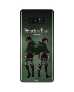 Attack On Titan Logo Galaxy Note 8 Skin
