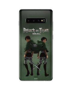 Attack On Titan Logo Galaxy S10 Plus Skin