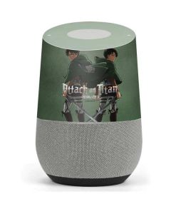 Attack On Titan Logo Google Home Skin