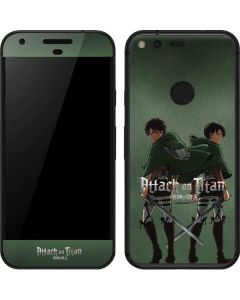 Attack On Titan Logo Google Pixel Skin