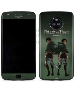 Attack On Titan Logo Moto X4 Skin