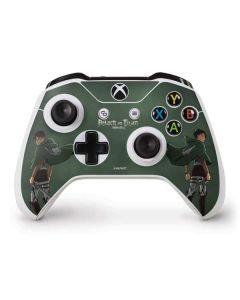 Attack On Titan Logo Xbox One S Controller Skin