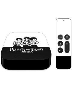 Attack On Titan Posse Apple TV Skin