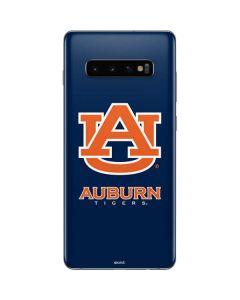 Auburn Bold Logo Galaxy S10 Plus Skin