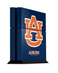 Auburn Bold Logo PS4 Console Skin