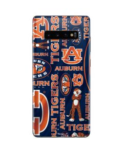 Auburn Pattern Print Galaxy S10 Plus Skin