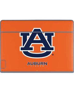 Auburn Tigers Orange Galaxy Book Keyboard Folio 12in Skin