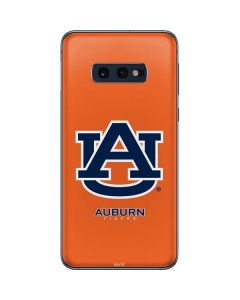 Auburn Tigers Orange Galaxy S10e Skin
