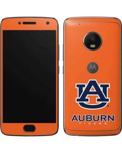 Auburn Tigers Orange Moto G5 Plus Skin