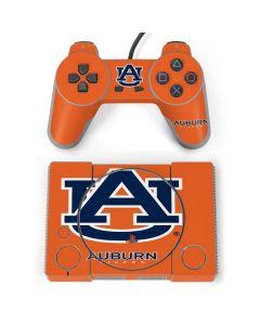 Auburn Tigers Orange PlayStation Classic Bundle Skin