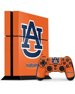 Auburn Tigers Orange PS4 Console and Controller Bundle Skin