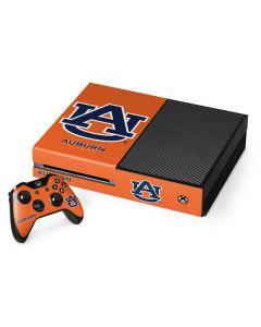 Auburn Tigers Orange Xbox One Console and Controller Bundle Skin