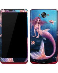 Aurelia Mermaid with Fish Motorola Droid Skin