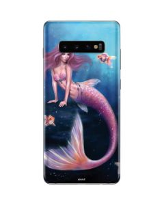 Aurelia Mermaid with Fish Galaxy S10 Plus Skin