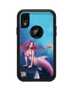 Aurelia Mermaid with Fish Otterbox Defender iPhone Skin