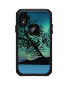 Aurora Borealis over Sandvannet Lake Otterbox Defender iPhone Skin