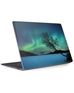 Aurora Borealis over Sandvannet Lake Surface Laptop 2 Skin