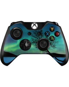 Aurora Borealis over Sandvannet Lake Xbox One Controller Skin