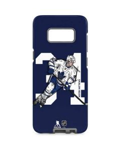 Auston Matthews #34 Action Sketch Galaxy S8 Pro Case