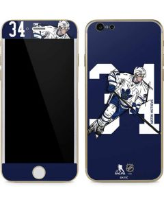 Auston Matthews #34 Action Sketch iPhone 6/6s Skin