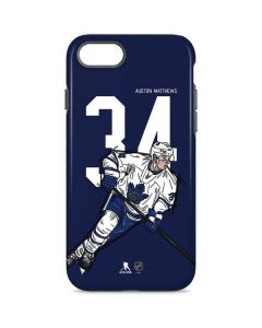 Auston Matthews #34 Action Sketch iPhone 7 Pro Case