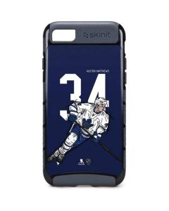 Auston Matthews #34 Action Sketch iPhone 8 Cargo Case