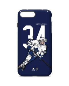 Auston Matthews #34 Action Sketch iPhone 8 Plus Pro Case
