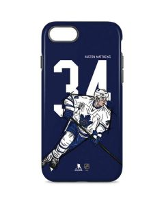 Auston Matthews #34 Action Sketch iPhone 8 Pro Case