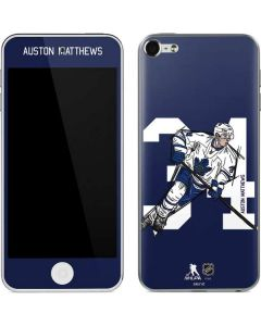 Auston Matthews #34 Action Sketch Apple iPod Skin