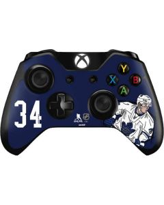 Auston Matthews #34 Action Sketch Xbox One Controller Skin