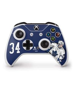 Auston Matthews #34 Action Sketch Xbox One S Controller Skin