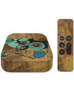 Autumn Owl Apple TV Skin