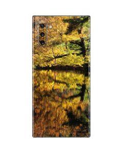 Autumn Trees at Connemara Galaxy Note 10 Skin