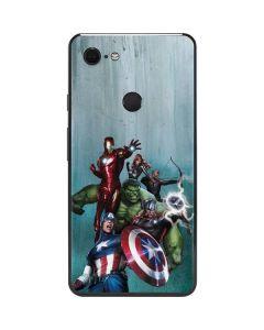 Avengers Assemble Google Pixel 3 XL Skin