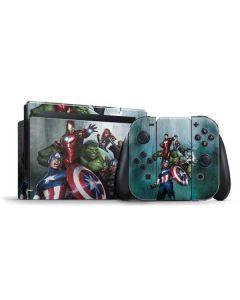 Avengers Assemble Nintendo Switch Bundle Skin