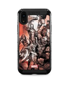 Avengers Assemble Sketch iPhone XR Cargo Case